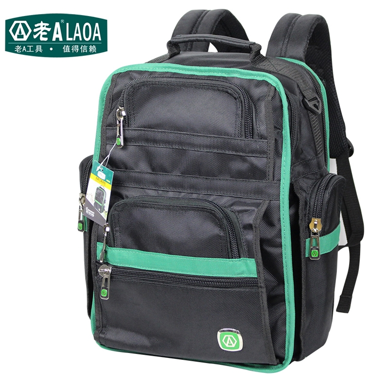 58.98  Watch now - http   ali7nu.worldwells.pw go.php t 32520202234 - LAOA  Brand Multifunction Tool Backpack High Quality Thicken Professional  Electrician ... fbcc61be917aa