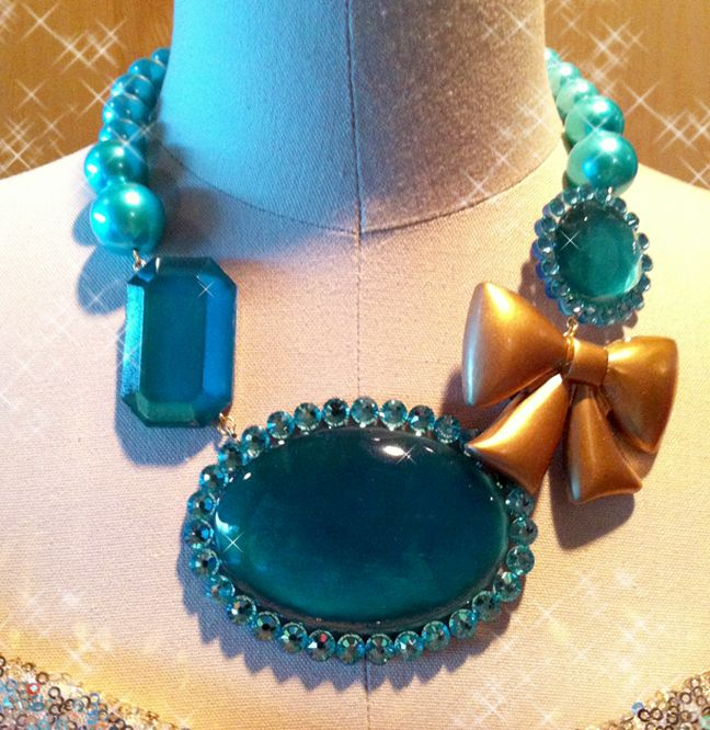Ever After High Madeline Hatter Necklace by dolly brie on Tumblr
