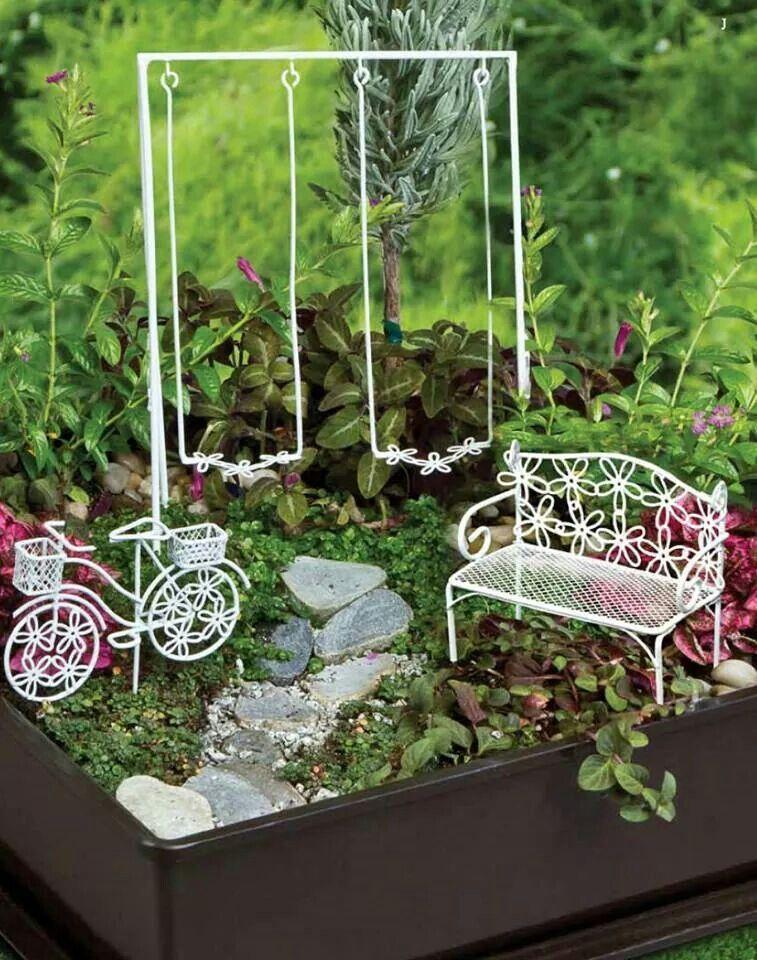 Pin Von Susan Gaillard Auf Fairie Gardens   Pinterest   Feengarten, Mini  Garten Und Miniatur