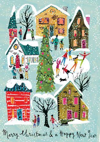 Christmas / winter illustration -