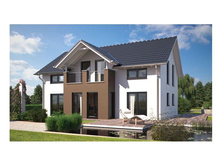 Passivhaus modern  Living 166 - #Einfamilienhaus von Hanlo Haus Vertriebsges. mbH ...