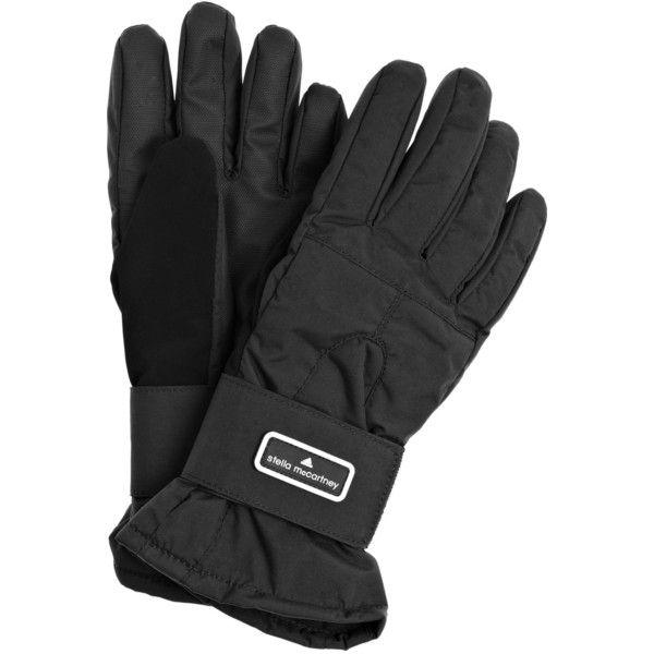 Adidas by Stella McCartney Fleece-lined ski gloves