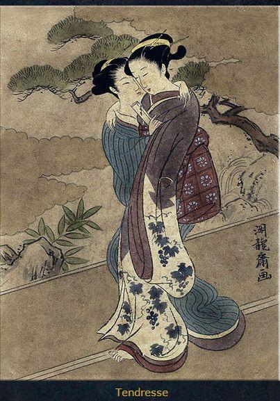 Geisha lesbian