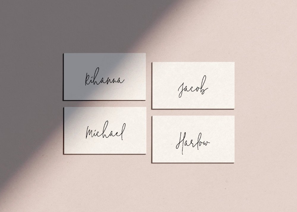 Simple Place Card Template Wedding Place Name Settings Etsy For Michaels Place Card Template 10 Profe Wedding Place Names Place Card Template Wedding Places