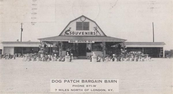 Whatwasthere Vintage Picture Of Dog Patch Bargin Barn 7 Miles