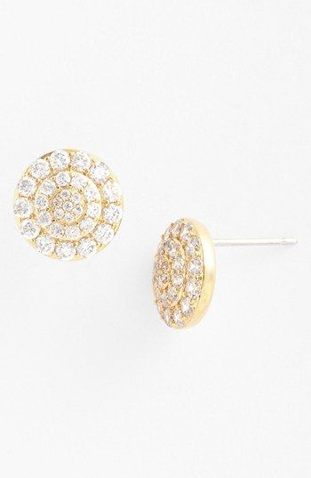 Beautiful Nadri Round Stud Earrings Available At Nordstrom
