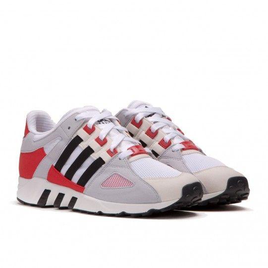 Adidas Equipment Running Guidance 93 Weiss Schwarz Rot Mit Bildern Rot Schwarz Sneaker Kopf Coole Schuhe