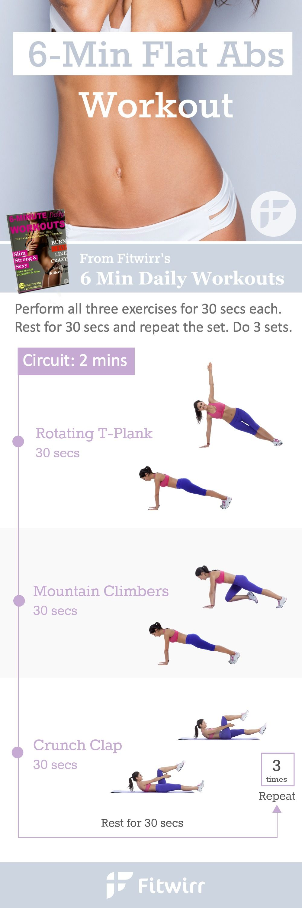Get a Flat Belly - the Best 6 Minute - 177.8KB