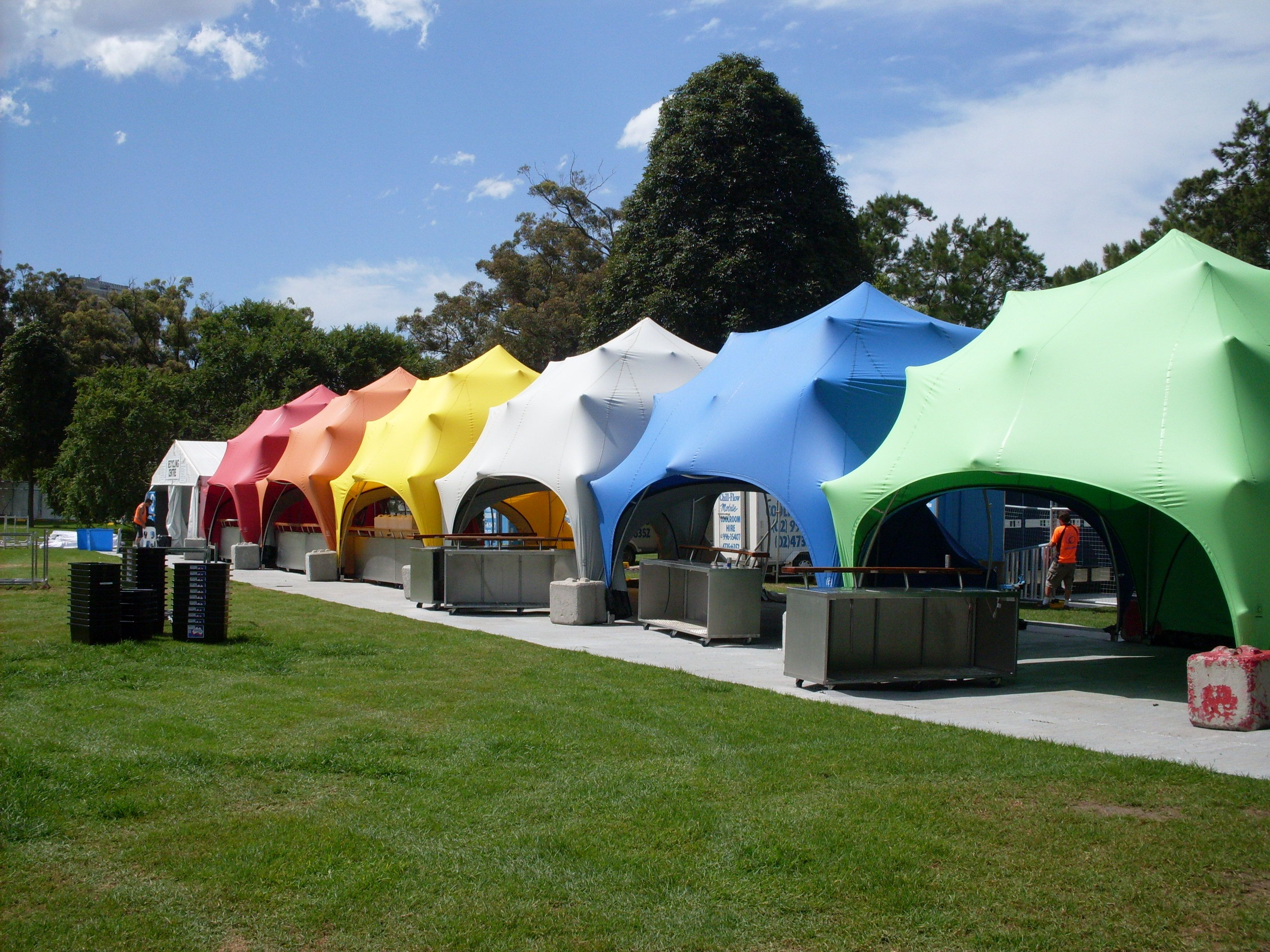 Festival and event tents fully brandable...and fun! & Festival and event tents fully brandable...and fun! | Stretch ...