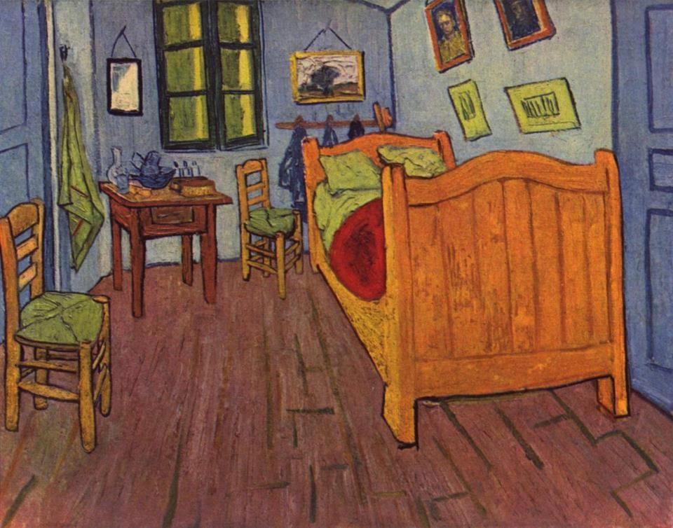 L\u0027habitació de Vincent a Arles, 1888 Vincent van Gogh Pinterest