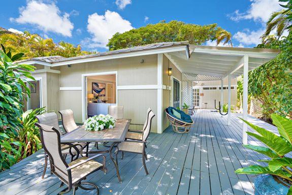 Lanikai Beach House Kailua Real Estate