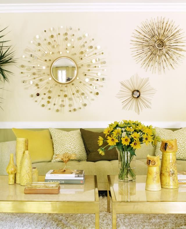 Home Staging Gold Wall Decor Wall Decor Living Room Decor