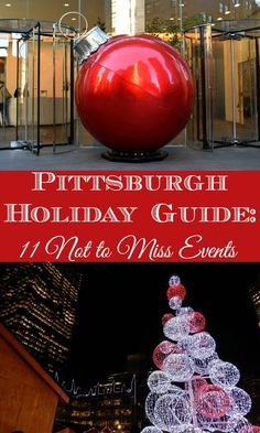 Pittsburgh Christmas Shows.Pittsburgh Holiday Guide United States Travels Frugal