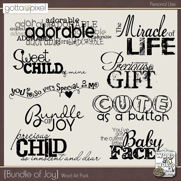 Baby Quotes & Words