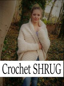 Photo of CROCHET SHRUG Hallo zusammen, heute möchte ich euch gern zeigen, wie ihr dies…