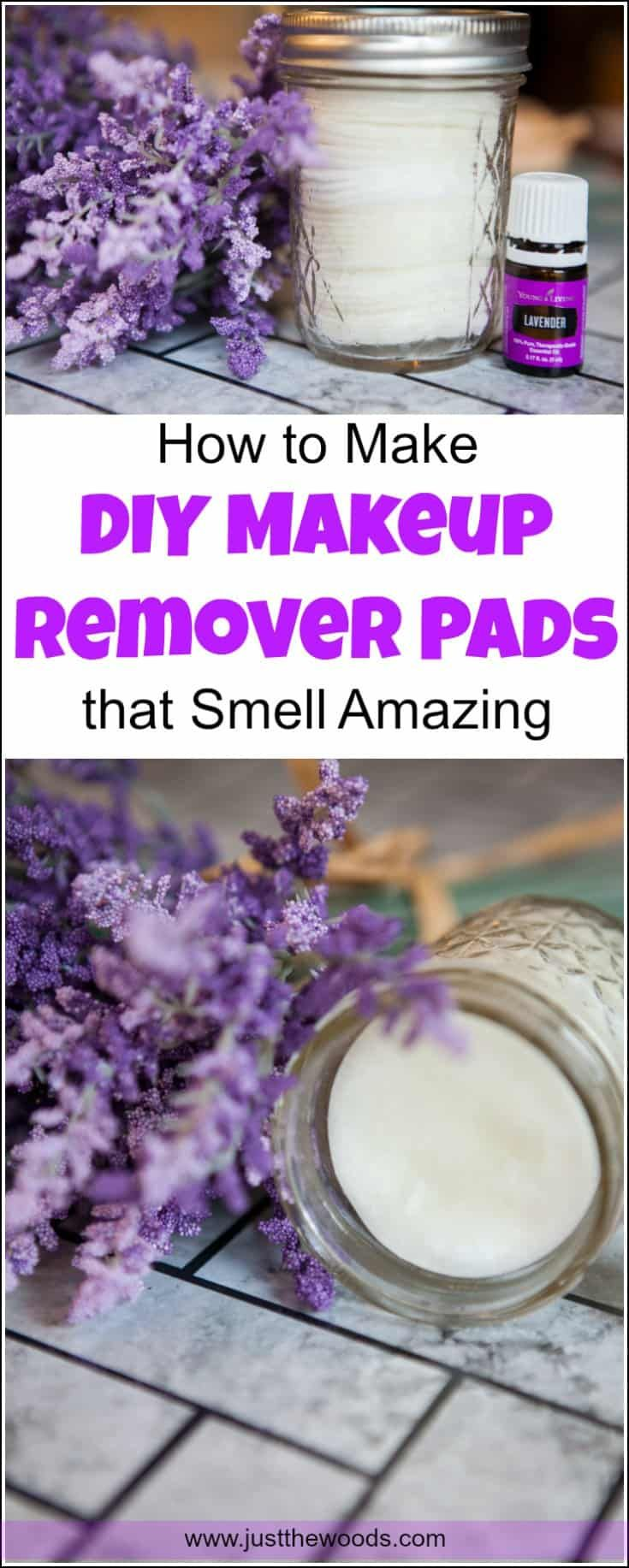 How To Make Diy Makeup Remover Pads That Smell Amazing How to Make DIY Makeup Remover Pads that Smell Amazing Diy Makeup diy makeup remover