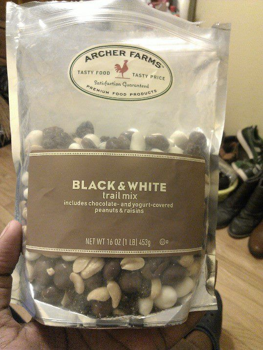 Black and White trail mix from Archer Farms