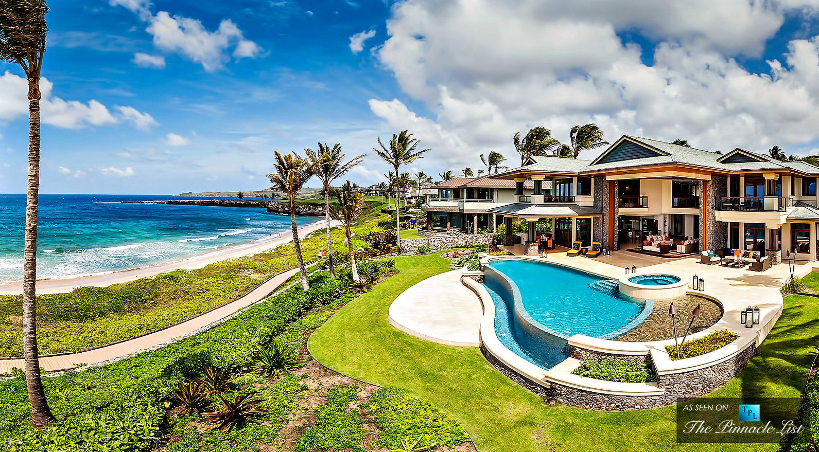 panoramic view of 3 kapalua place in kapalua lahaina maui hawaii listed for sale at. Black Bedroom Furniture Sets. Home Design Ideas