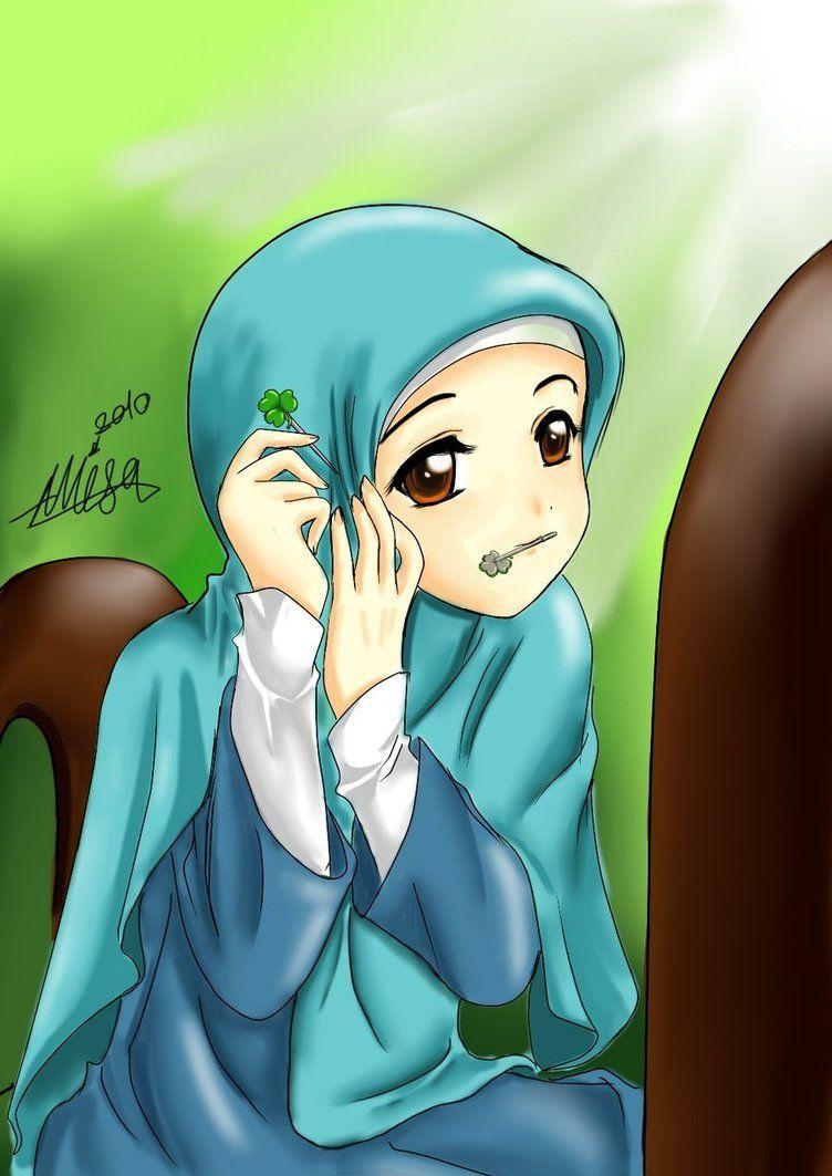 2014 Cool new fashion hijab | Anime muslimah