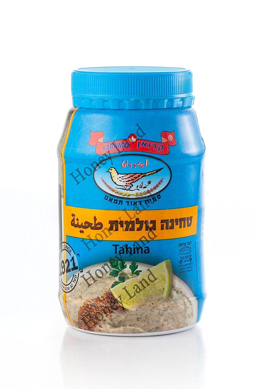 Honey Land 100 Pure Tahini Sesame Seed Paste Karawan
