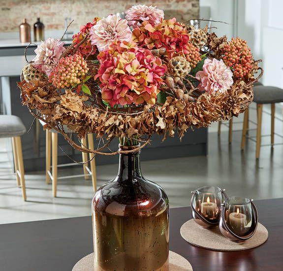 DIY: Raffinierter Blumenschmuck für den Herbst