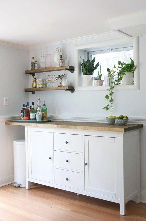 Ikea Hacks Diy Bar Cabinet Kitchenette Cocina Diy Aparador