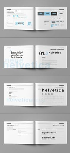 Brand Manual and Identity Template u2013 Corporate Design Brochure - manual templates