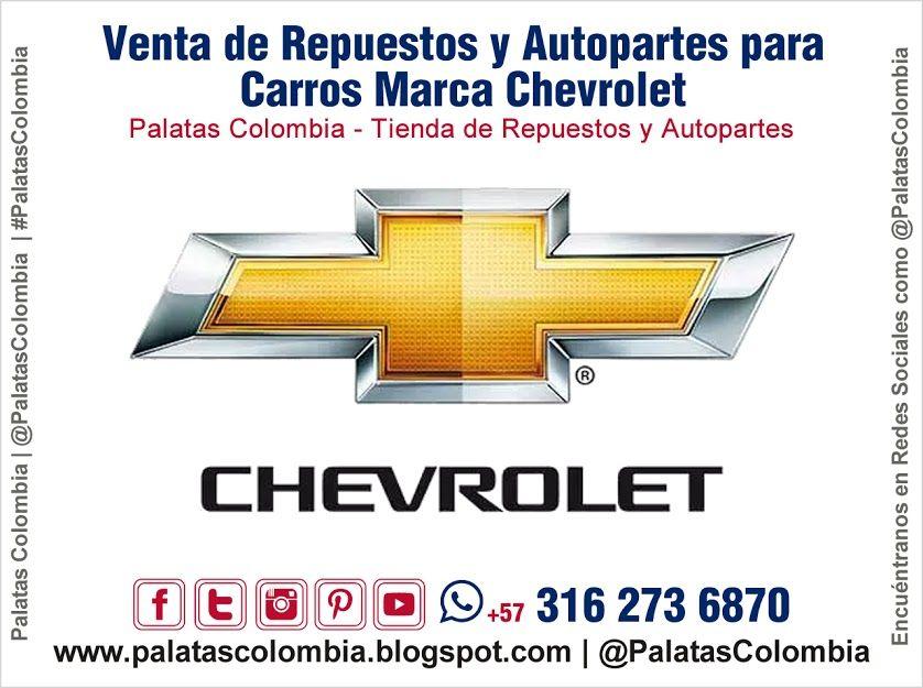 Venta De Repuestos Y Autopartes Para Carros Marca Chevrolet En