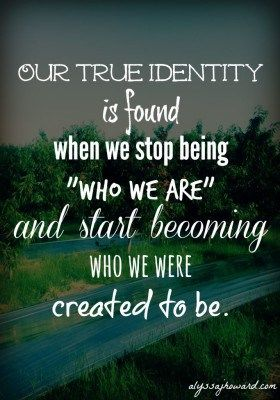Discovering Our Identity Is Both Challenging And Ongoing Essay
