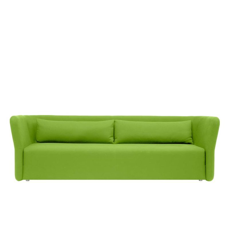 Canapé convertible vert cru CARMEN Softline