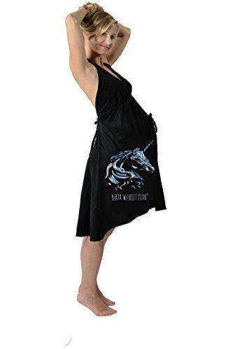 fd6b6c565dd1e Pretty Pushers Cotton Jersey Labor Gown Unicorn Plus Size 1826 prepregnancy  Black    Read more at the image link.Note It is affiliate link to Amazon.