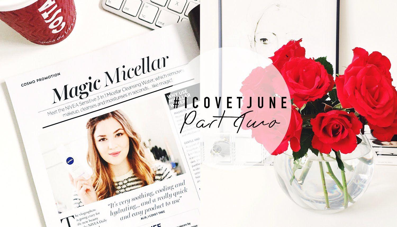 In a Magazine & New Hair! | #ICOVETJUNE