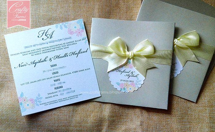 Malaysia Wedding Card Wedding Cards Handmade Wedding Cards Personalized Wedding Favors