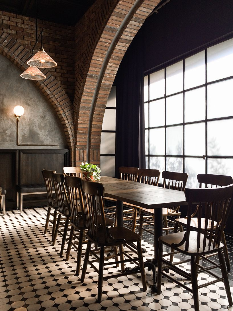 Historic Sal N Sociedad Transformed Into Rustic Resto Bar In  # Muebles Haus Monterrey