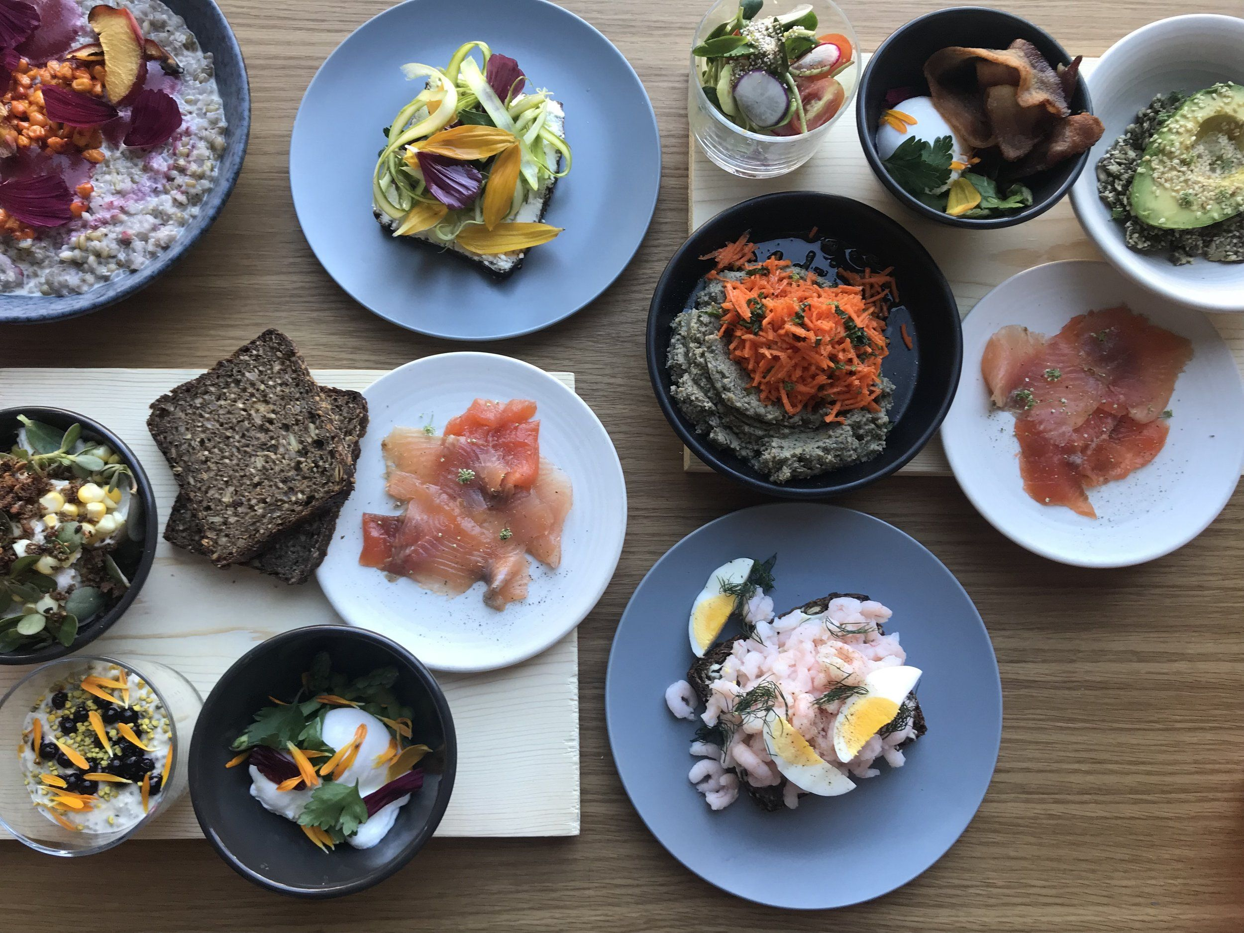 Little Dishes To Mix And Match Love The Clean Scandinavian Food Here In 2020 Scandinavian Food Fried Breakfast Baking With Olive Oil