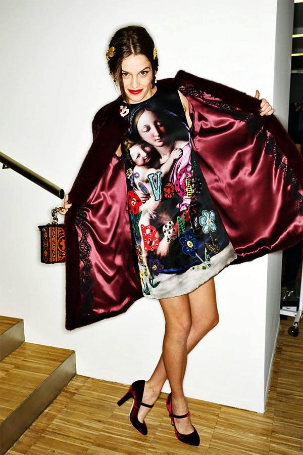 Model Behavior: Milan Backstage | Hint Fashion Magazine