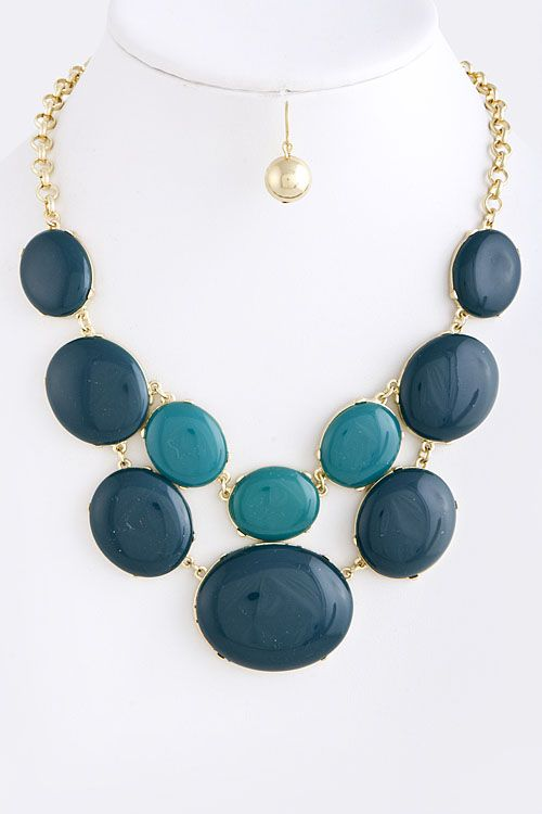 Bubble Necklaces ~ Coming Soon to BC  $16    Beige, Brown, Black, Teal
