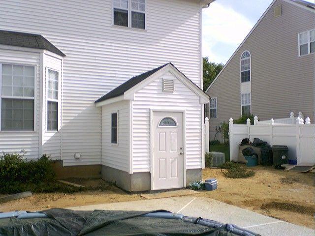 Door Entrance Outside Basement Stairwell | An alternative to bilco doors! | Backyard | Pinterest & Door Entrance Outside Basement Stairwell | An alternative to bilco ... pezcame.com