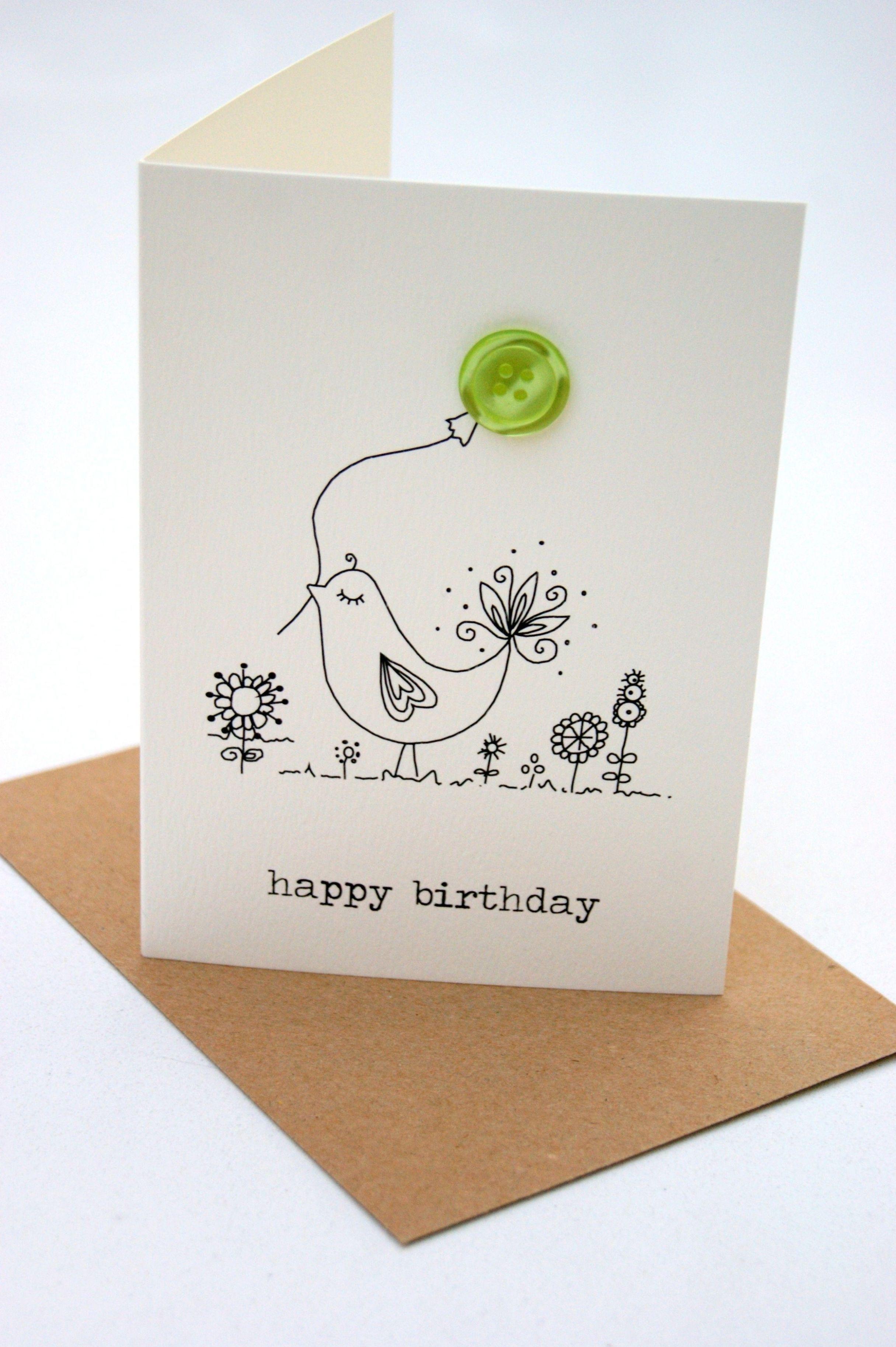Printable Birthday Card Funny Printable Birthday Etsy Birthday Cards Diy Button Cards Birthday Cards