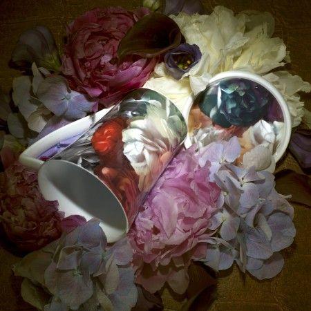 Ted Baker Portmeirion Technicolour Bloom Mug and Coasters