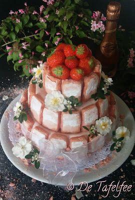 De Tafelfee: Charlotte rose à la fraise