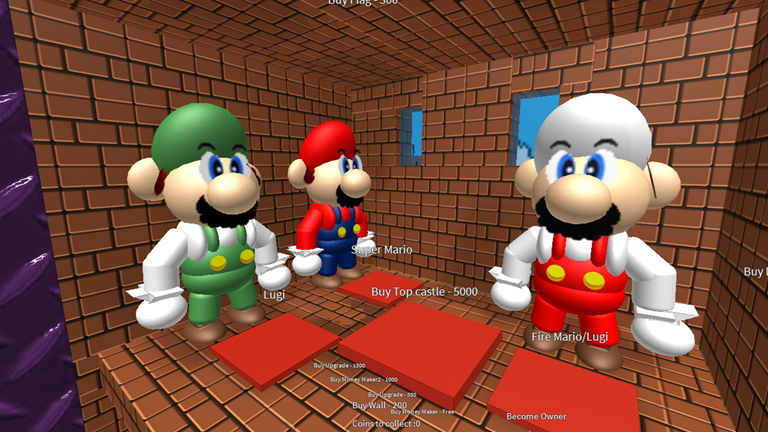 Super Mario Bros Castle Tycoon V2 Now Out Roblox Super Mario