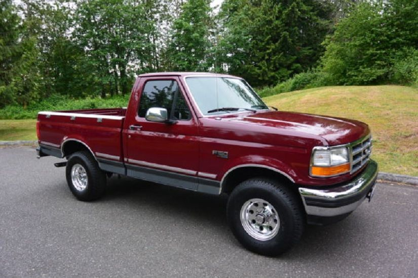 1993 Ford F 150 4x4 Xlt 1500 5 0l 69k Miles Auto Excellent
