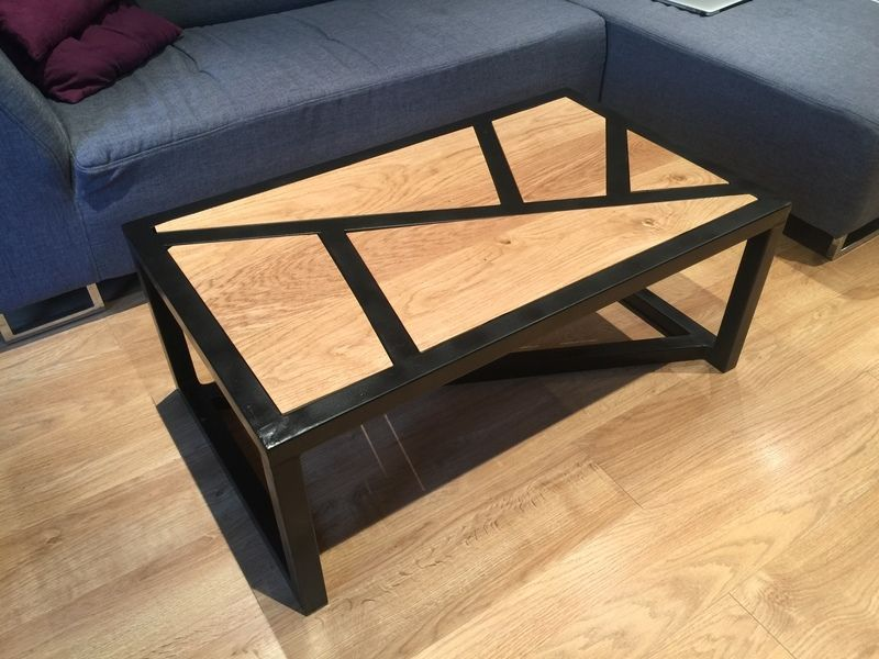 DIY : Table basse BOIS & METAL | Oui Are Makers