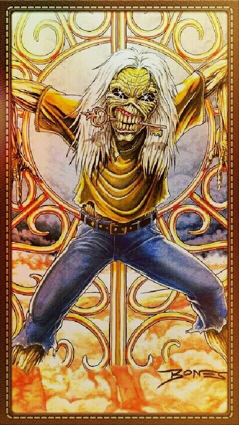 Eddie -Iron Maiden........