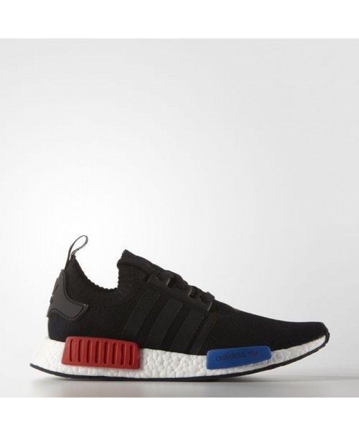 a2ebc82554aedb Adidas Originals NMD R1 Primeknit Core Black Lush Red S79168 Love leisure  and running friends come to action