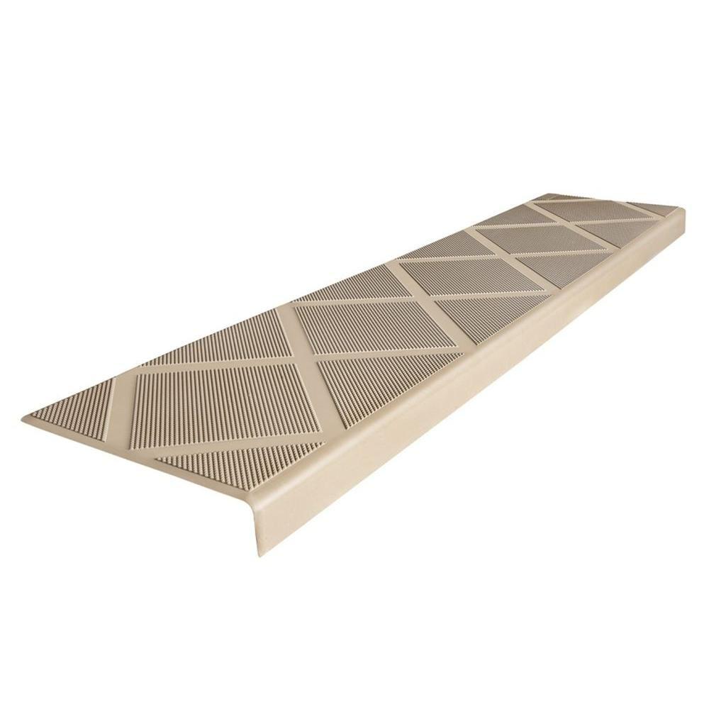 Best Composigrip Composite Anti Slip Stair Tread 48 In Beige 400 x 300