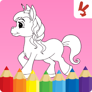 Download Unicorn Coloring Book For Kids Android App 2bros Games Introduces Painting And Drawing For Coloring Books Kids Coloring Books Toddler Coloring Book