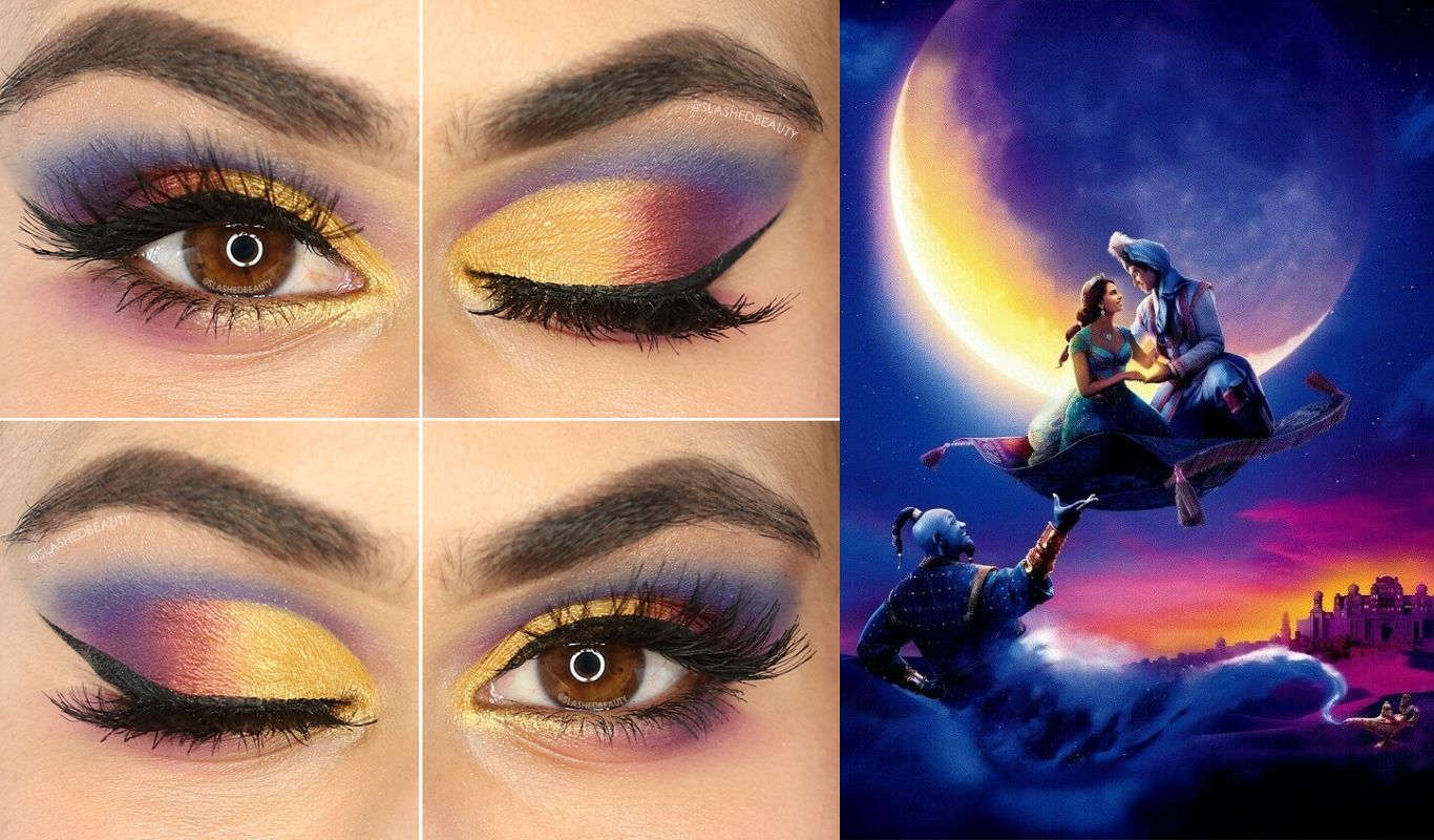 Aladdin inspired makeup to follow up yesterdays post ccw
