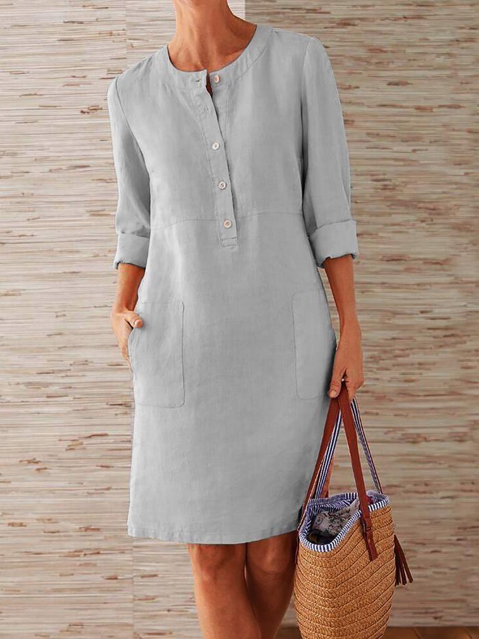 Shop KLEIDER - Luvstars Hemdkleid 1 Tageskleider ...